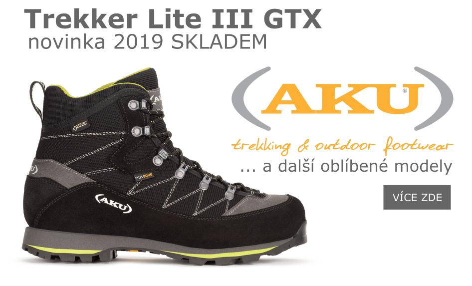 Trekker Lite III GTX 2019 a další oblíbené modely skladem