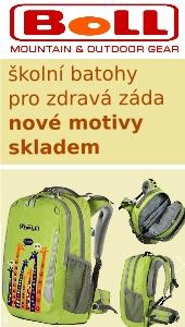 Školní batoh (aktovka) Boll pro zdravá záda. Kvalitní, technicky propracovaný školní batoh, který roste s dítětem díky plně výškově stavitelnému zádovému systému SP-system. Konstrukce batohu podporuje zdravý vývoj dětské páteře.