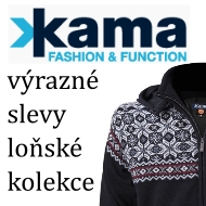 Kama - výrazné slevy kolekce 2015/16