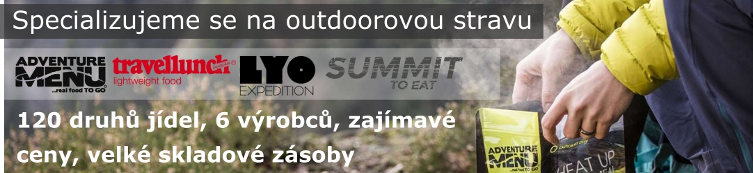 Specializujeme se na outdoorovou stravu.