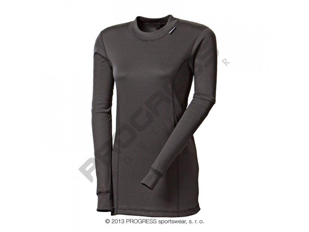 Progress dámské triko Micro Sense MS NDRZ dlouhý rukáv