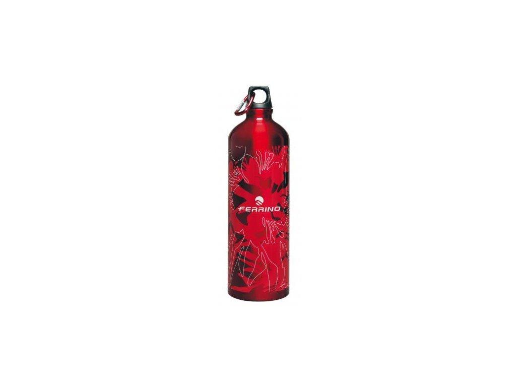 Ferrino hliníková láhev DRINK RAINBOW 01