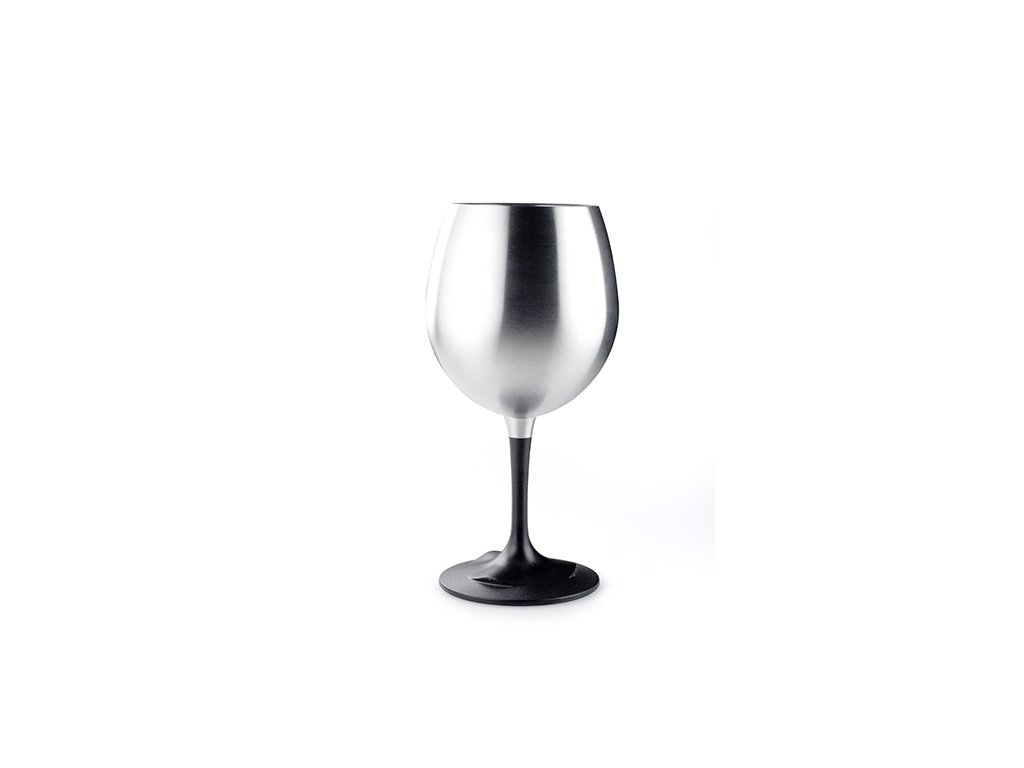 GSI Outdoors sklenička Glacier Stainless Nesting Red Wine Glass