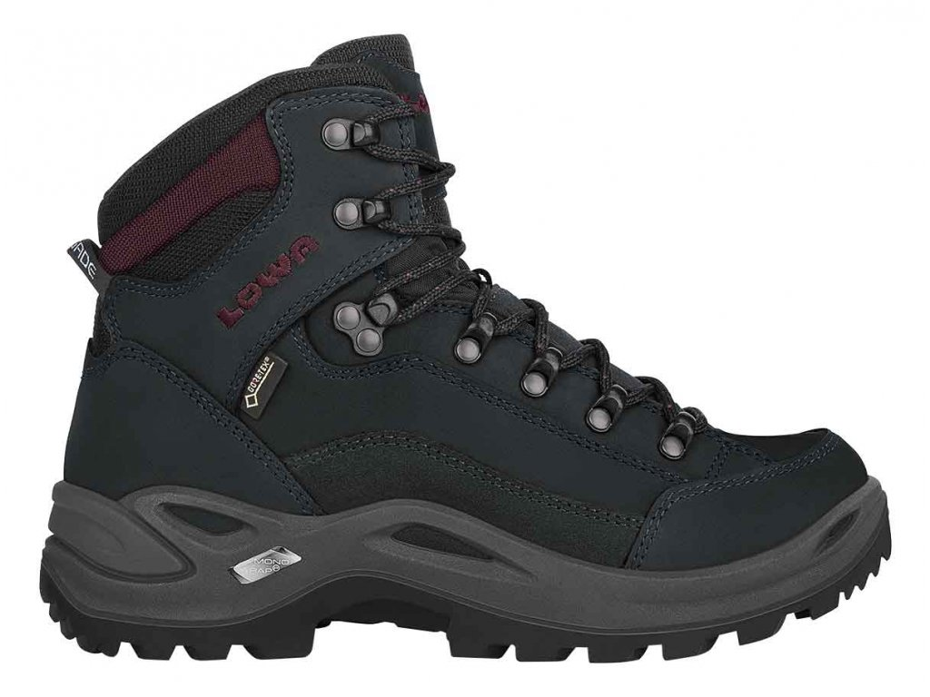 Lowa boty RENEGADE GTX MID Ws blackburgundy