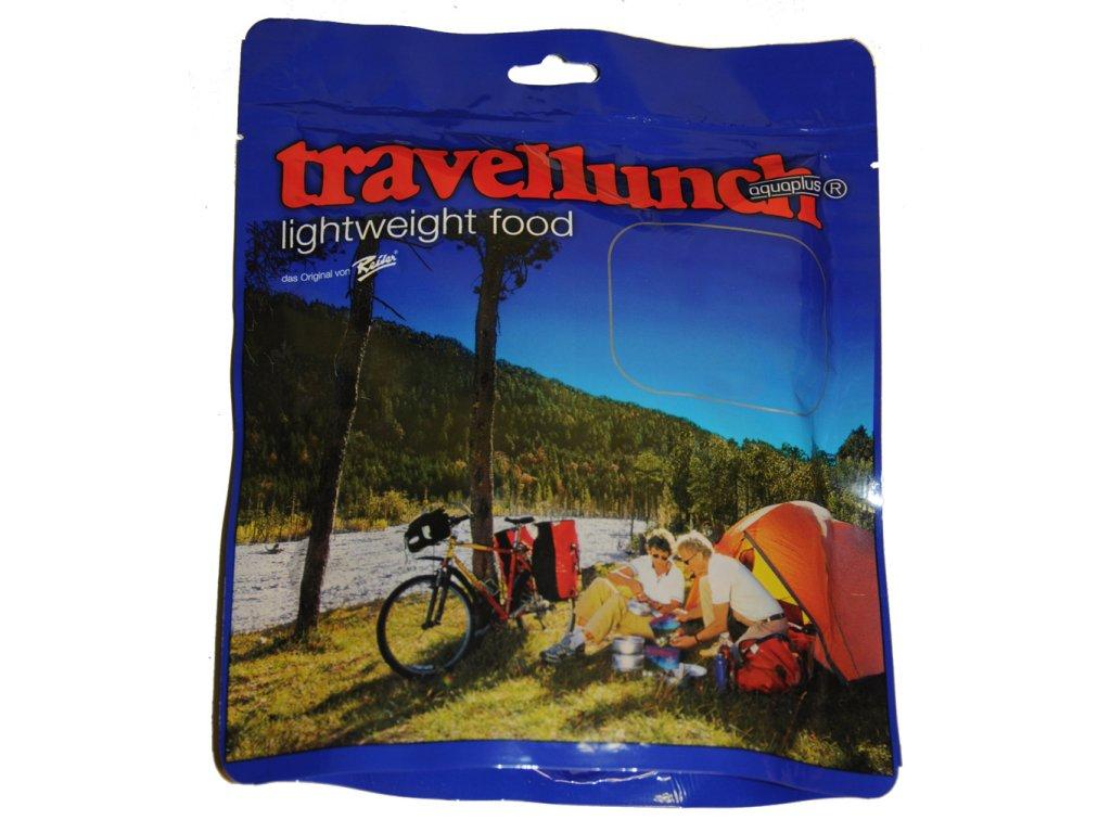 Travellunch hlavní jídlo bezmasé 2 porce  + plyn.kartuše Primus 100g ZDARMA  za 5ks jakékoliv 2porce (i jiné značky)