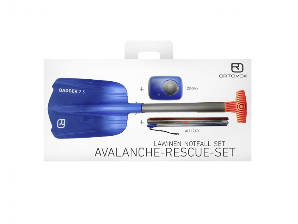 Ortovox lavinový set Avalanche Rescue Kit Zoom 01