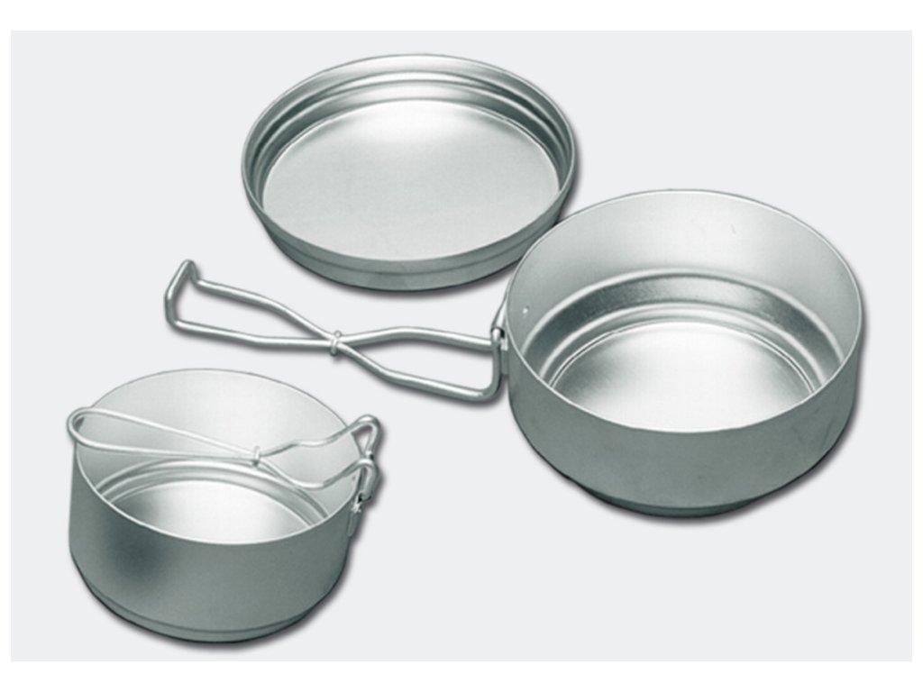 ALB forming hliníkové nádobí třídílné (ešus)