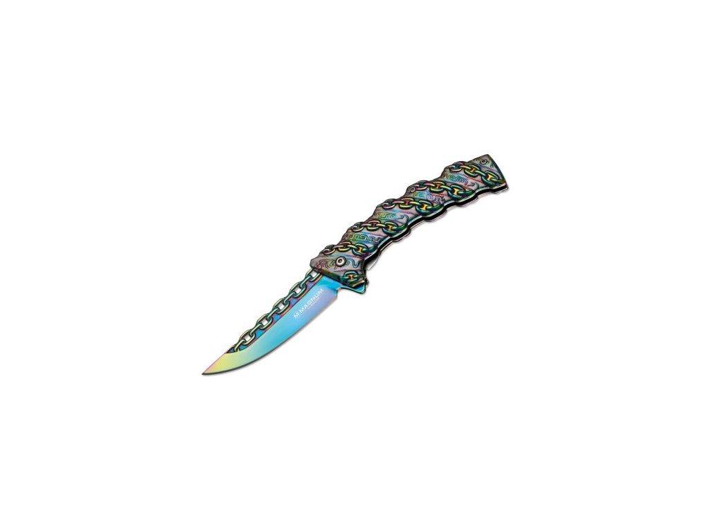 Böker nůž Magnum Chained Rainbow 01MB635 01