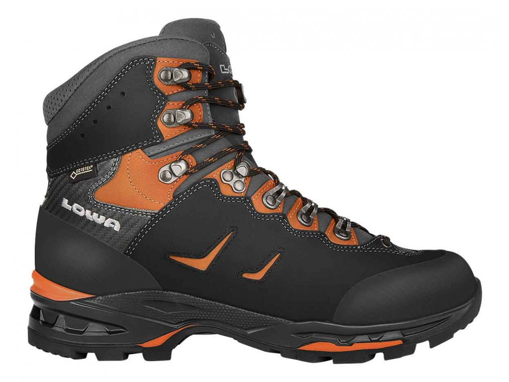 Lowa boty CAMINO GTX black orange 01