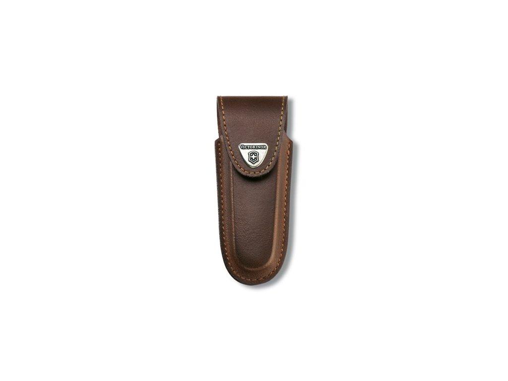 Victorinox kožené pouzdro na nůž 111 mm do osmi želízek (4.0538)