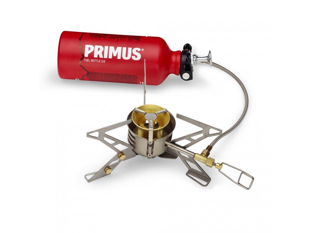 Primus kombinovaný vařič OmniFuel a láhev 0,6 l