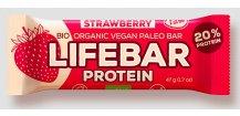 Lifebar tyčinka Protein BIO RAW 01