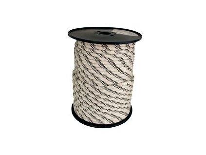 Tendon lano Static 10 bílé - metráž