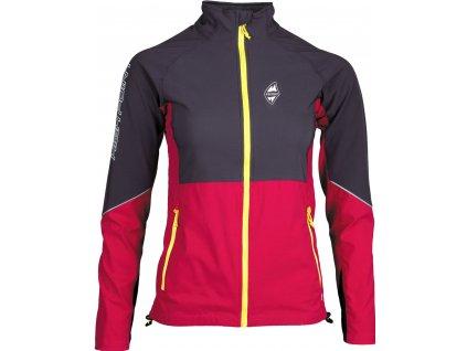 Gale lady jacket cerna cervena