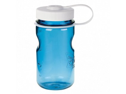 Round MiniGrip Bottle 350ml modra
