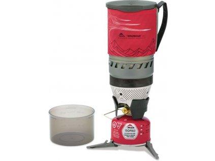 MSR set vařič nádobí WindBurner Personal Stove Systém  + Primus kartuše Power Gas 100g