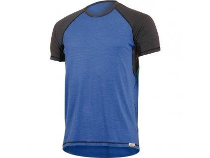 oto 5180 modre panske vlnene merino triko