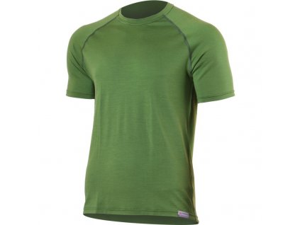 quido 6060 zelene panske vlnene merino triko