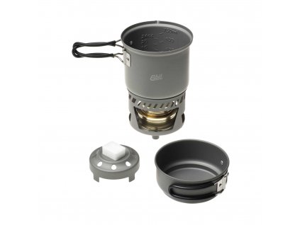 Esbit souprava na vaření 2 vařiče Cooksets with Alcohol Burner CS985HA 01