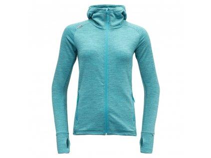 Devold mikina Nibba woman jacket Hood 01