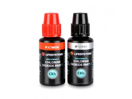 Lifesystems dezinfekce Chlorine Dioxide Drops