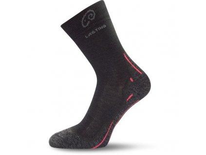 Lasting ponožky Merino WHI 01