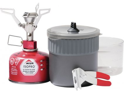 MSR set vařič nádobí PocketRocket 2 Mini Stove Kit 01