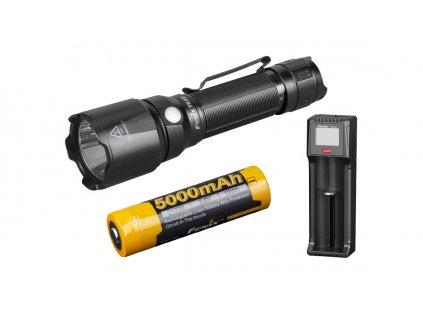Fenix ruční taktická svítilna TK22 V2.0 + nabíjecí sada 5000 mAh 01