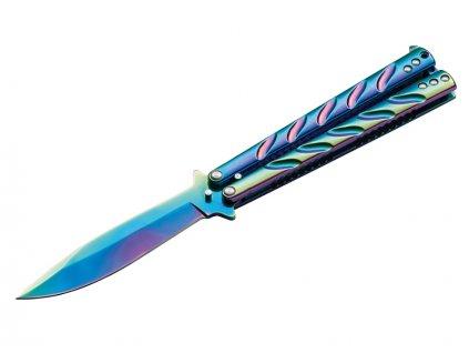 Böker nůž Magnum Balisong Rainbow 06EX401 01