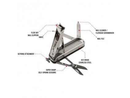 True Utility manikůra na cesty Nail Klip Kit TU215K 01