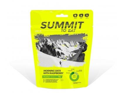 Summit to eat Ovesná kaše s malinami 91g
