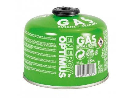 Optimus plynová kartuše 220g 01