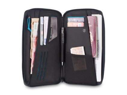 Lifeventure pouzdro RFiD Travel Wallet 01