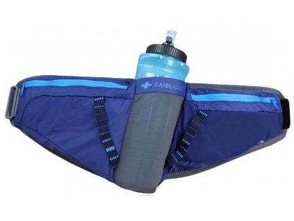 RaidLight běžecká ledvinka s lahví Activ 600 Belt Dark Blue grey 01