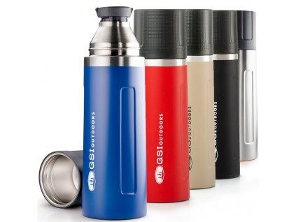 GSI termoska Glacier Stainless Vacuum Bottle 1l 01