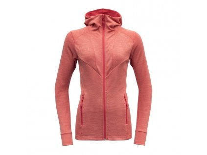 Devold mikina Aksla woman jacket Hood 01