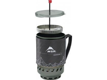 MSR Presovač WindBurner Coffee Press Kits (Barva 0, Velikost 1,8 L)