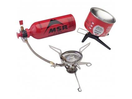 66591 varic msr whisperlite universal stove combo