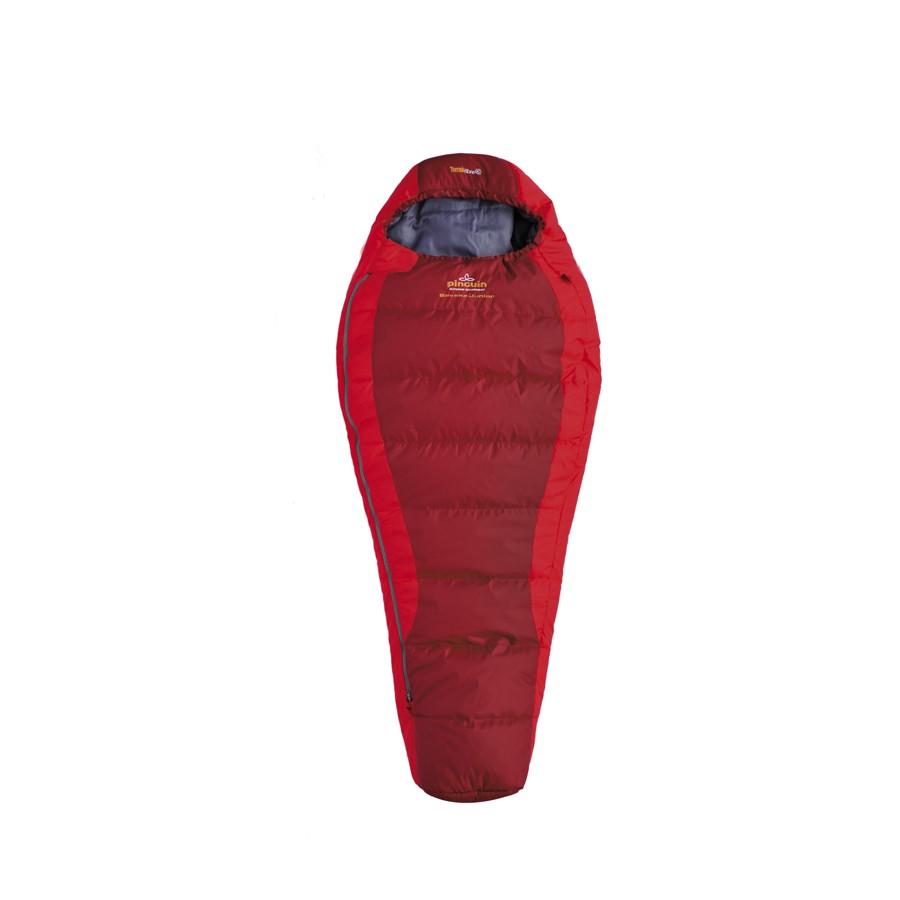 Pinguin spací pytel Savana Junior Barva: červená - zip pravý