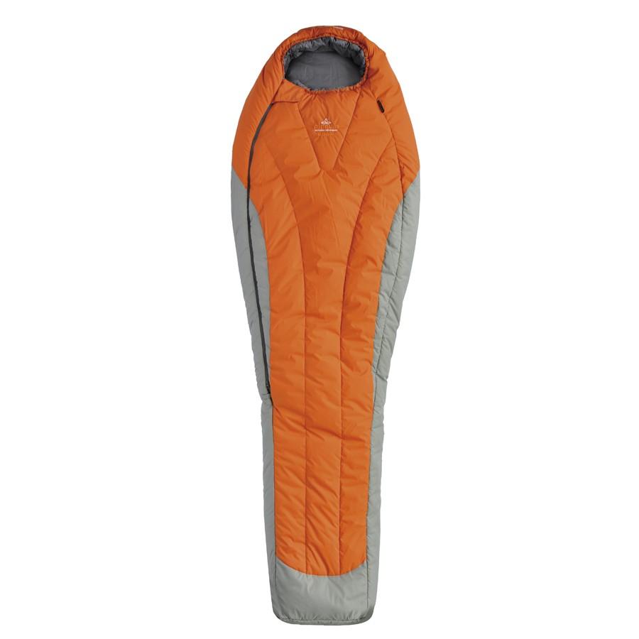 Pinguin spací pytel Expert Barva: oranžová-185cm-zip: pravý