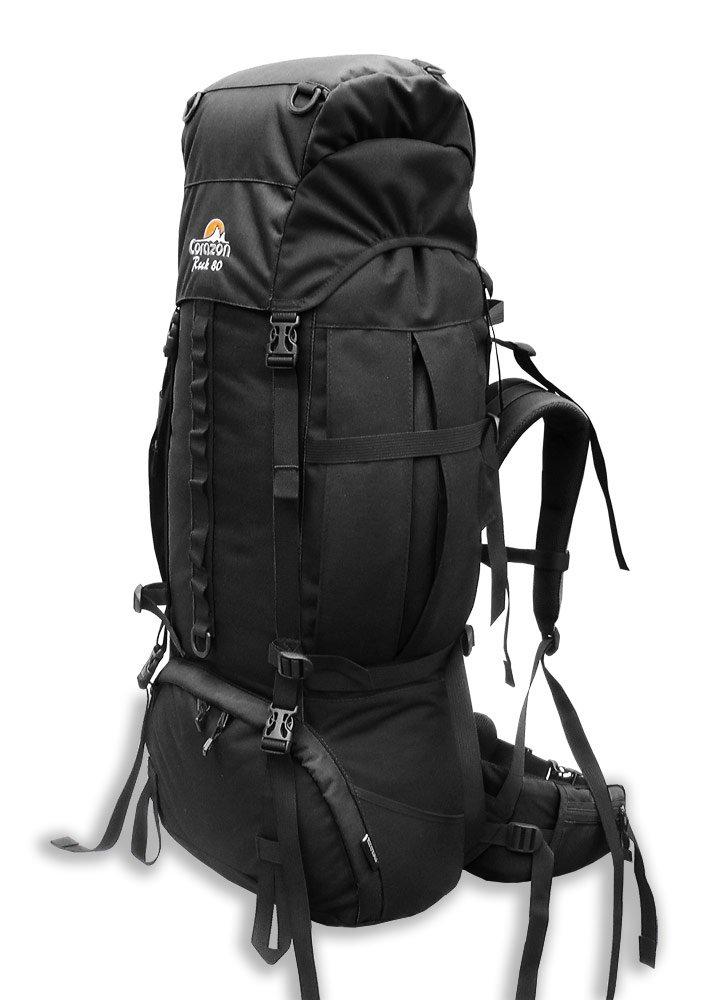 Corazon batoh Rock 80 Barva: černá