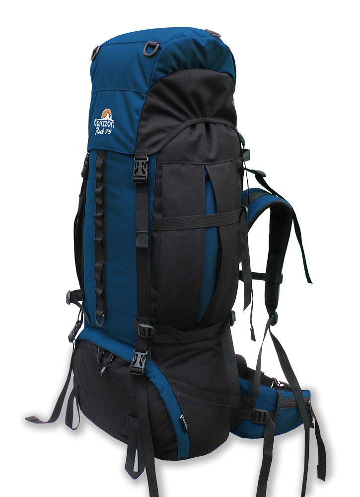 Corazon batoh Rock 75 Barva: tmavě modrá/černá