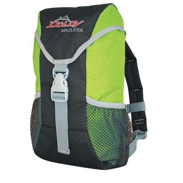 Doldy dětský batoh Mazlíček 6 Barva: zelený