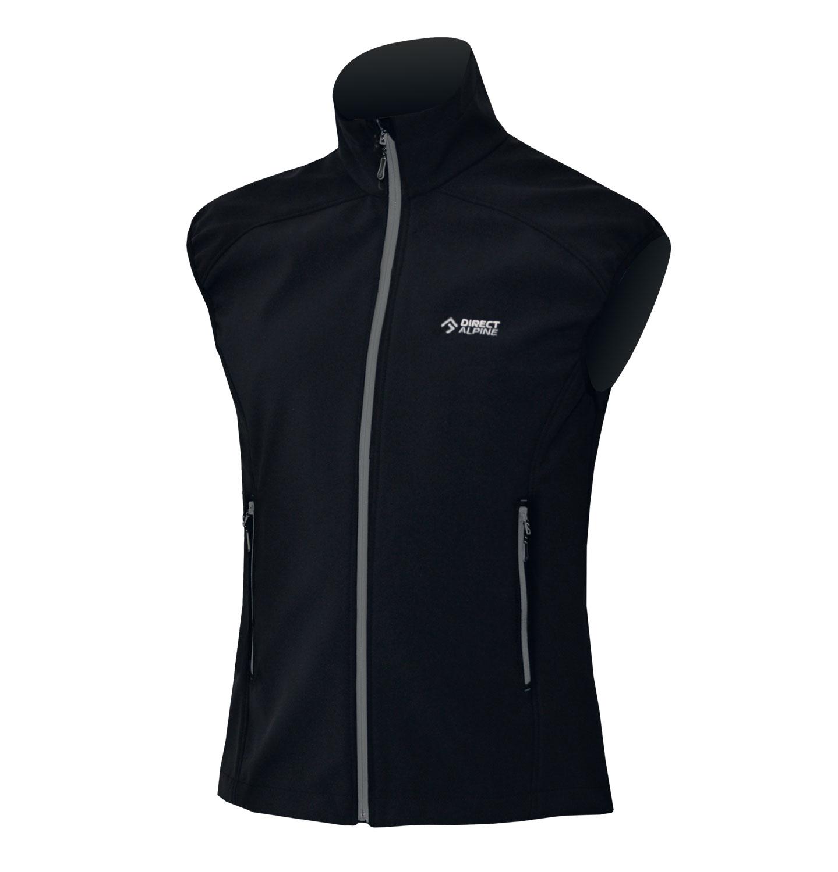Direct Alpine vesta Lizzard 5.0 Barva: černá, šedý zip, Velikost nebo typ: L