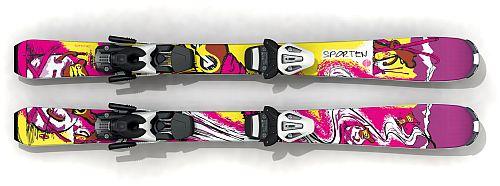 Sporten dětské sjezdové lyže Bugaboo Girl 16/17 set Tyrolia SLR 4.5 Barva, typ:: Sporten Bugaboo Girl + Tyrolia SLR 4.5, Délka (cm):: 70