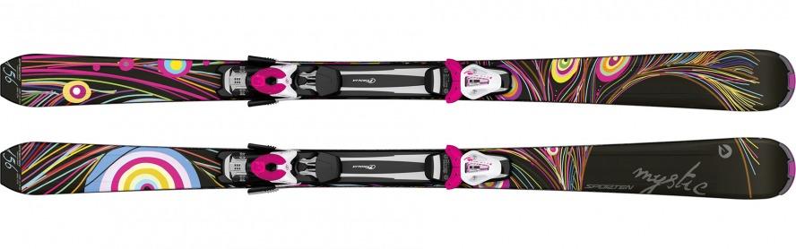 Sporten sjezdové lyže Mystic black 15/16 set deska vázání Tyrolia SX 10 Barva, typ:: Sporten Mystic set, Délka (cm):: 140
