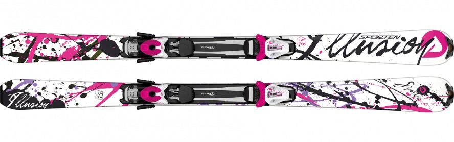 Sporten sjezdové lyže Illusion 15/16 set deska vázání Tyrolia SX 10 Barva, typ:: Sporten Illusion set, Délka (cm):: 166