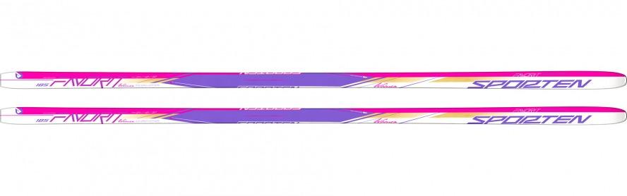Sporten běžky Favorit W (15/16) Délka (cm): 180, Skluznice: lisovaný protismyk - MgE