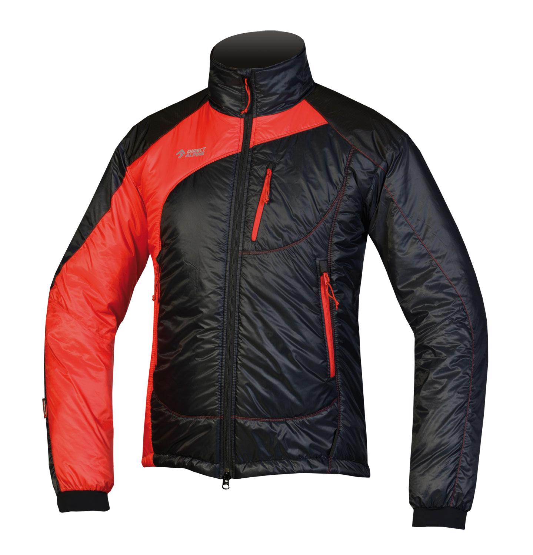 Direct Alpine bunda Belay 5.0 Barva: černo červená, Velikost nebo typ: L