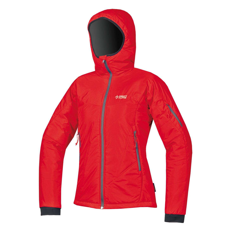 Direct Alpine bunda Denali Lady 5.0 Barva: červená, Velikost nebo typ: M